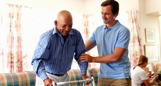 long-term-care-insurance-helping-an-adult-settle-into-a-senior-care-facility