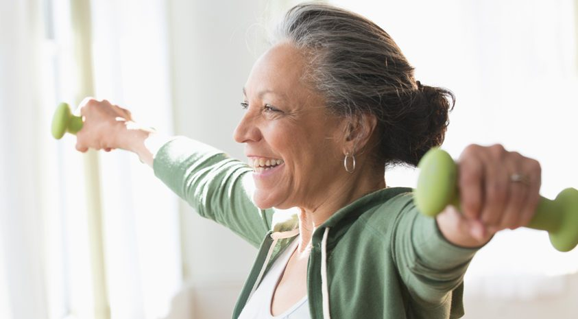woman-building-healthy-habits-for-healthy-retirement